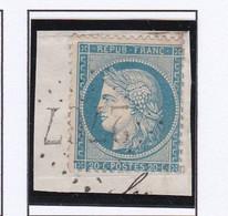 GC 2767 PAGNY SUR MOSELLE ( Dept 52 Meurthe Et Moselle ) S / N° 60 Sur Fragment - 1849-1876: Classic Period