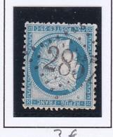 GC 2857 PIERREPONT ( Dept 52 Meurthe Et Moselle ) S / N° 60 - 1849-1876: Klassik