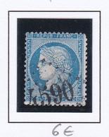 GC 4590 VANNES LE CHATEL ( Dept 52 Meurthe Et Moselle ) S / N° 60 - 1849-1876: Klassik