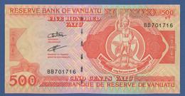 VANUATU - P.5b – 500 VATU  ND (1993 & 2006) - UNC Prefix BB - Vanuatu
