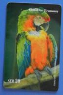 Switzerland Swiss Parrot Macaw Bird Oiseaux Vogel Birds Globalone Economy - Pappagalli