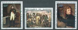 Dahomey Poste Aérienne YT N°102-103-104 Napoléon Bonaparte Oblitéré ° - Benin – Dahomey (1960-...)