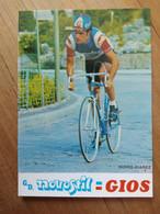 Cyclisme - Carte Publicitaire NOVOSTYL GIOS 1977 : JUAREZ - Cycling