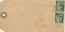 PAIRE 30C PAIX TARIF ECHANTILLON 4ème ECHELON 03/11/37 LABORATOIRES DUBOIS PARIS - 1921-1960: Moderne