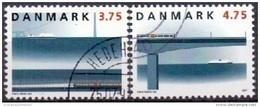 DENEMARKEN 1997 Opening Spoorverbinding Grote Belt GB-USED - Gebraucht