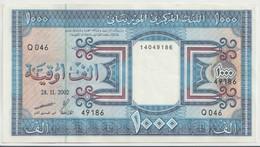 MAURITANIA P.  9c 1000 O 2002 AUNC - Mauritania