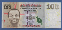 SWAZILAND - P.39 – 100 Emalangeni 2010 - UNC Prefix AA - Swaziland