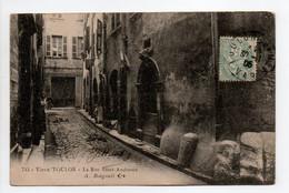 - CPA Vieux TOULON (83) - La Rue Saint-Andrieux 1905 - Edition Bougault 743 - - Toulon