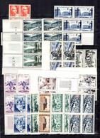 France Collection De Bonnes Valeurs En Blocs De Neufs ** MNH 1945/1957. TB. A Saisir! - Verzamelingen