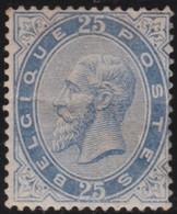 Belgie  .   OBP   .     40 (2 Scans)  Licht Vouwtje        .      *     .    Ongebruikt  Met Gom .   /   Neuf Avec Gomme - 1883 Leopold II