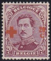Belgie  .   OBP   .      155    .      *     .    Ongebruikt Met Gom  .   /  .   Neuf Avec Gomme - 1918 Red Cross