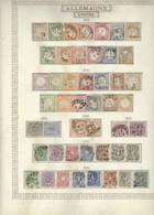 ALLEMAGNE Empire & Etats Allemands  Coll. S/pages Maury B/TB/TTB/Déf. Neufs & Obl. - Sammlungen