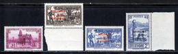 Cote D'Ivoire 1941 Yvert 165 / 168 ** B - Unused Stamps