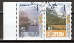 Albanie   Europa Cept 2004 Type Du Paar Gestempeld - 2004