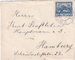 TCHECOSLOVAQUIE  LETTRE POUR HAMBURG - Briefe U. Dokumente