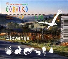 Slovenie Slovenija Bf 063 Parc Naturel, Faune, Lapin, Papillon, Loutre, Cigogne - Unclassified