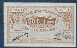 Chambre De Commerce De Bordeaux - 50 Centimes  - Pirot N° 4 - Chamber Of Commerce