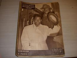 MIROIR SPRINT 232 20.11.1950 BOXE RAY SUGAR ROBINSON CYCLISME MORT REY MOUJICA - Sport