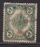 2c Used Kedah 1942 /  Japanese Malaya Occupation, - Japanese Occupation