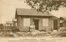 44* NANTES   ST JOSEPH DE PORTRICQ  Maison Ouvriere  Cie Locomotives  RL11.0127 - Nantes