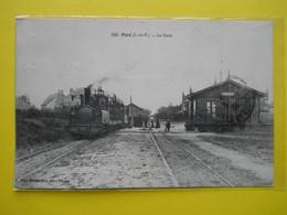 Piré  ,gare Du  Tramway Et Tramway Bon Plan - Autres Communes