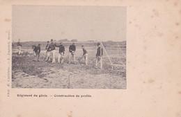 240391Régiment Du Génie, Construction De Profils (voir Coins) - Regimente