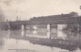 Saint Junien Le Pont De Fer Sur La Vienne - Saint Junien