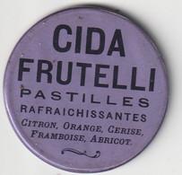 CIDA FRUTELLI / VIEUX PETIT MIROIR PUBLICITAIRE / PASTILLES RAFRAICHISSANTES - Other