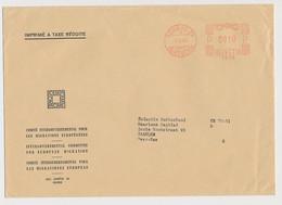 Meter Cover Switzerland 1966 ICEM - Intergovernmental Committee For European Migration - European Community