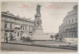 CPA - Ukraine - Odessa - Monument De Catherine II - Ucraina