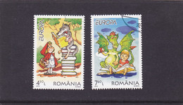 EUROPA CEPT, CHILDREN STORIES, ILLUSTRATIONS, 2010, USED, TWO STAMPS, ROMANIA. - Usado