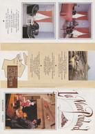 Normandie Mont Saint Michel Brochure Restaurant Mère Poulard + Facture Menu - Menus