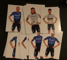 Deceuninck Quick Step 2001 - Set 30 Cartes / Cards - Cyclists - Cyclisme - Ciclismo -wielrennen - Radsport