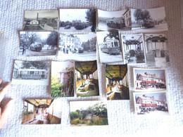 Lot Dijon CPA Usine De Tramway Photos De Rames En Ville , Sauvetage D'une Voiture En 1962 - Dijon