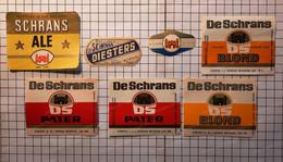 Bieretiketten Biere Etiquette Brouwerij  De Schrans Betekom X7 #A6.30 - Bier