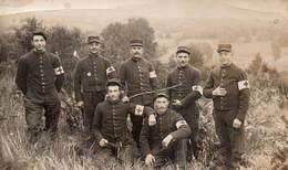 CP- Soldats, Au Repos - INFIRMIERS -( 105 ème. R.I- RIOM -63.)- - Otros