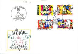 [907315]B/TB//-Suisse 1992 - BERN, Cirque, Arts, Animaux - Circus