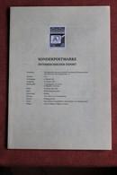 Österreich Schwarzdruck Zur Hologramm-Ausgabe: Österreichischer Export Auf Schwarzdruckblatt 1988 - Holograms