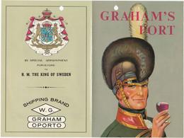 PORTUGAL - COMMERCIAL DOCUMENT - GRAHAM'S PORT - VINHO DO PORTO - OPORTO WINE 1966 - Portugal