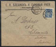 LETTONIE - RIGA / 1923 LETTRE POUR L ALLEMAGNE (ref 5466) - Lettonie