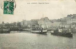 56* LORIENT  Depart Des Vapeurs     RL11.0780 - Lorient