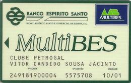 PORTUGAL - BANCO ESPIRITO SANTO - Credit Cards (Exp. Date Min. 10 Years)
