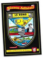 CP DEPT 56 BLASON ADHESIF LE BONO GOLFE DU MORBIHAN - Sonstige Gemeinden