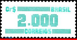 Ref. BR-1993 BRAZIL 1985 ., CIPHERS, (CR$ 2000.00),, 1986, MNH 1V Sc# 1993 - Nuevos