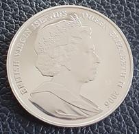 """British Virgin Islands 10 Dollars 2006 (PROOF) """"Queen Victoria""""  Silver - British Virgin Islands"""