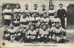 16 - ANGOULEME - Ecole St-Paul - Football Rugby (Equipe 1er) - Angouleme