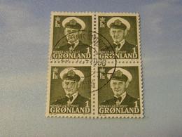 GROENLAND  En  Bloc - Gebraucht