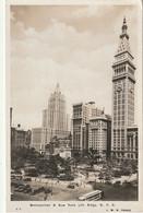 Z++ 12-(U.S.A) METROPOLITAN & NEW YORK LIFE BUILDINGS , NEW YORK CITY - 2 SCANS - Otros Monumentos Y Edificios