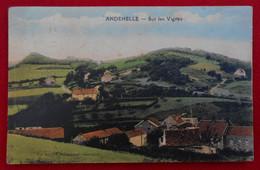 CPA 1923 Andenelle - Andenne - Sur Les Vignes - Andenne
