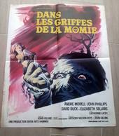1967-dans Les Griffes De La Momie-format 55x45cm- Pliée-affiche Originale - Manifesti & Poster